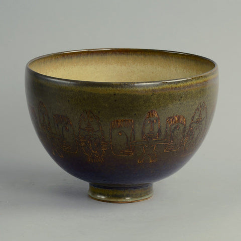 bowl by Edwin and Mary Scheier