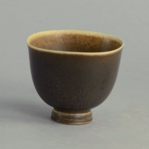 Miniature stoneware bowl by Berndt Friberg for Gustavsberg