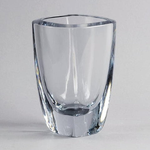 Square glass vase by Gerda Stromberg for Strombergshyttan N7308