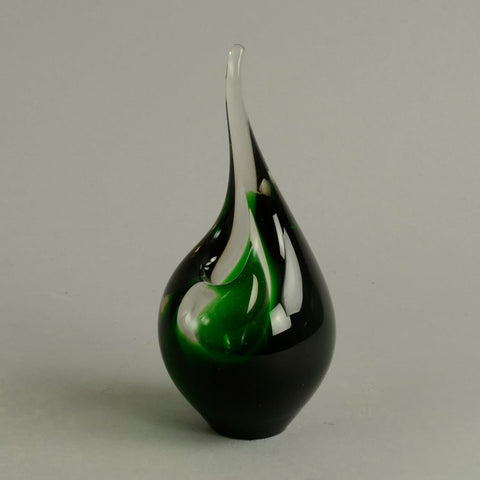 Flame vase by Per Lutken for Holmegaard