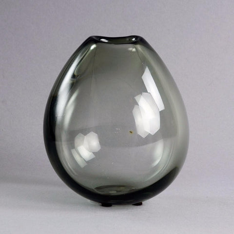 Soap bubble vase in gray by Per Lutken for Holmegaard