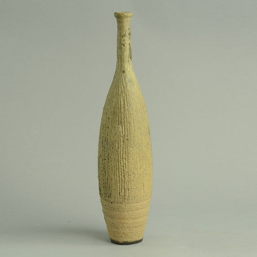 Unique stoneware vase by Ingeborg and Bruno Asshoff B3385