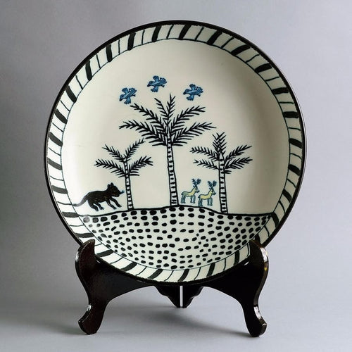 Very large bowl by Ulrica Hydman Vallien A1422
