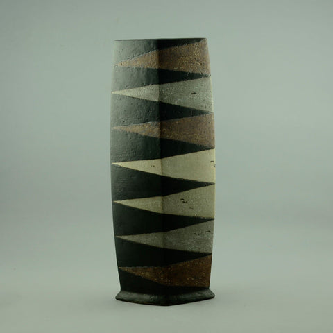 Antje Bruggemann Breckwoldt, very large unique stoneware vase for sale