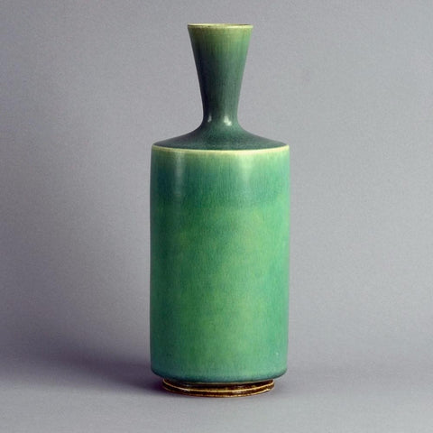 Unique stoneware vase by Sven Wejsfelt for Gustavsberg