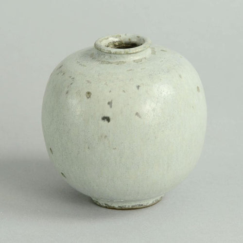 Small vase with pale blue glaze by Arne Bang B3503
