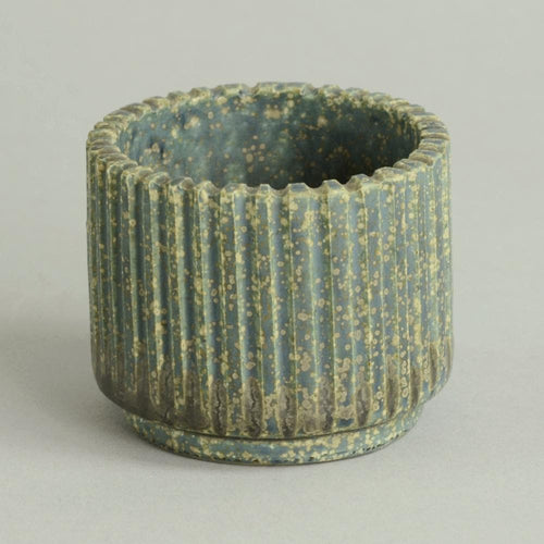 Small fluted vase by Arne Bang