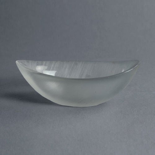 Glass bowl by Tapio Wirkkala for Iittala