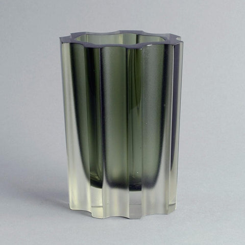 Glass vase by Tapio Wirkkala for Iittala