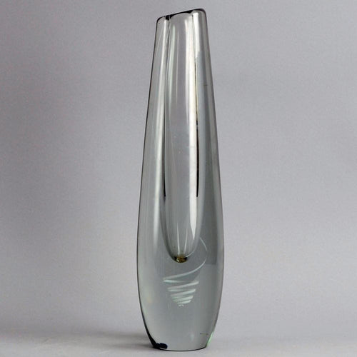 "Glass ""Serpentini"" vase by Gunnel Nyman for Nuutäjarvi-Nottsjö  B3215"