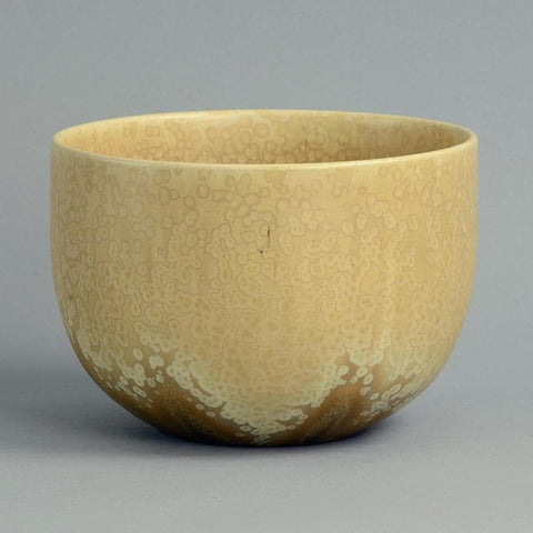 Unique stoneware bowl  by Wendelin Stahl