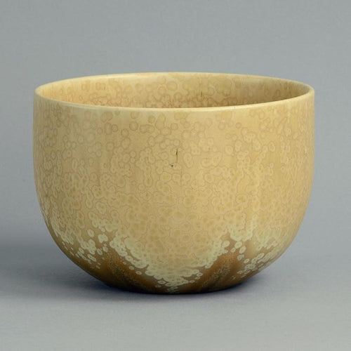 Unique stoneware bowl  by Wendelin Stahl B3447
