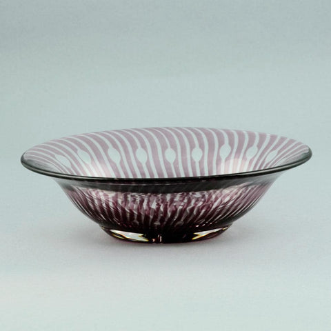 Slipgraal glass bowl by Edward Hald for Orrefors N5388