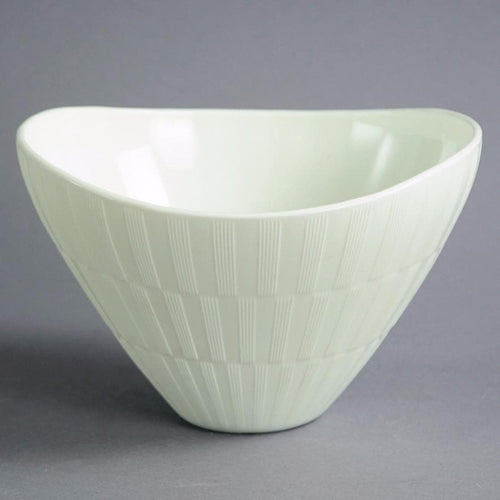 "White ""Randi"" bowl by Arthur Carlsson Percy for Gulluskrufs B3059"
