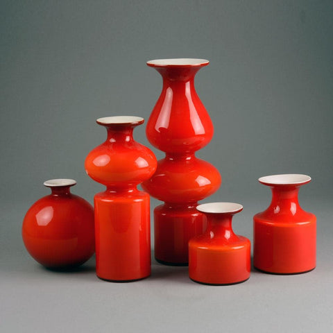 Holmegaard Carnaby vases for sale