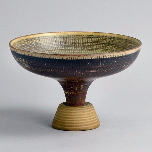 "Unique ""Farsta"" vase by Wilhelm Kage for Gustavsberg"