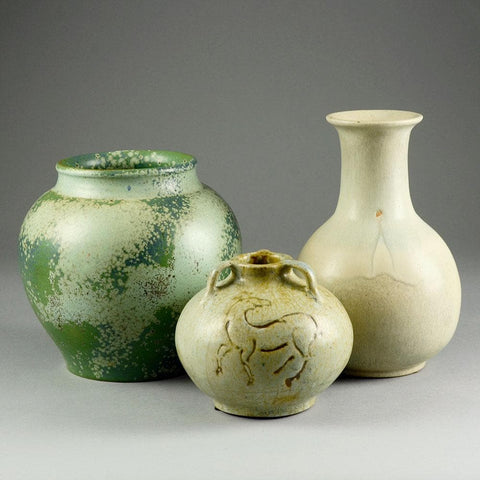Group of vases by Bode Willumsen, own studio, Denmark