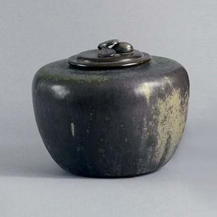 Lidded jar by Carl Halier for Royal Copenhagen
