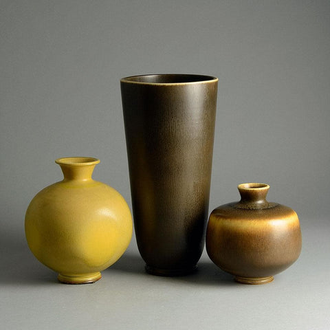 Berndt Friberg ceramic vases for sale