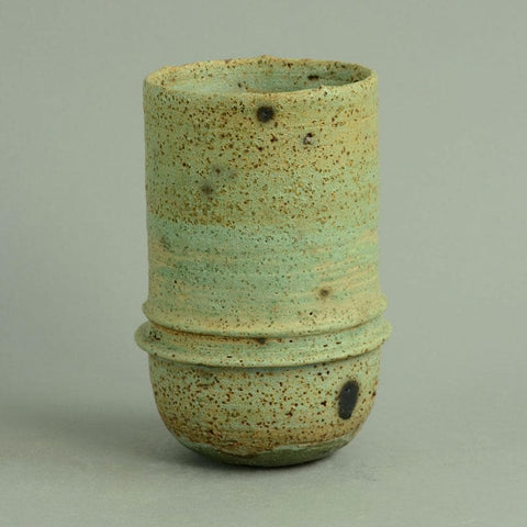 Unique stoneware vase by Ray Silverman C5278