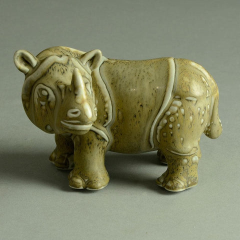 Gunnar Nylund rhino figure for sale Rorstrand