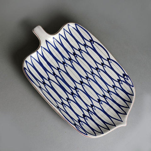 Stig Lindberg faience dish for sale