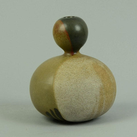 Ceramic double gourd by Paul Hoff for Gustavsberg