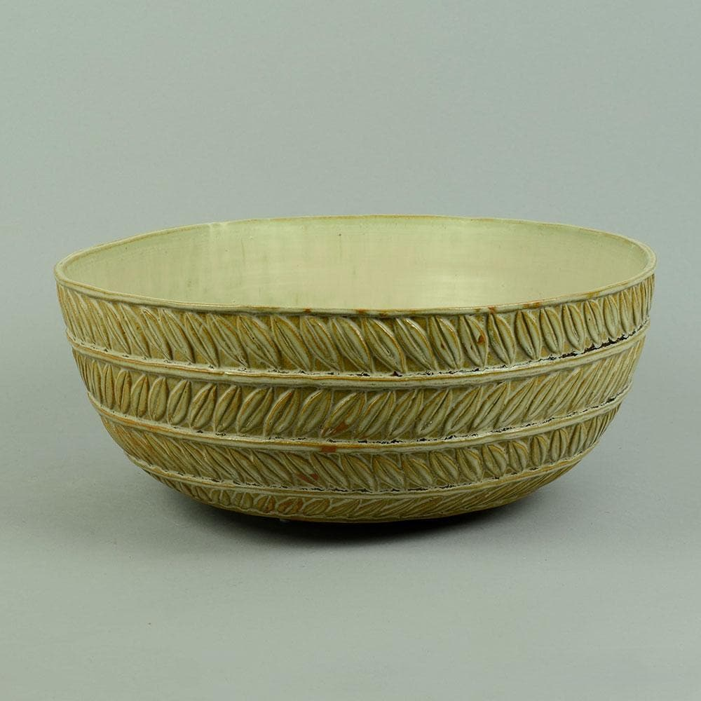 Very large ceramic bowl by Axel Salto