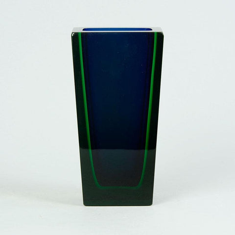 Severin Brorby for Hadeland, Norway  Rectangular vase