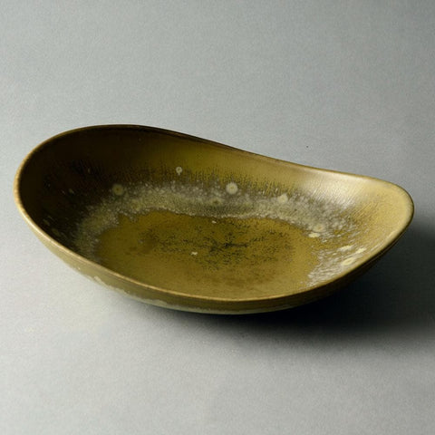 Carl Harry Stalhane for Rorstand, bowl with brown glaze, B3320