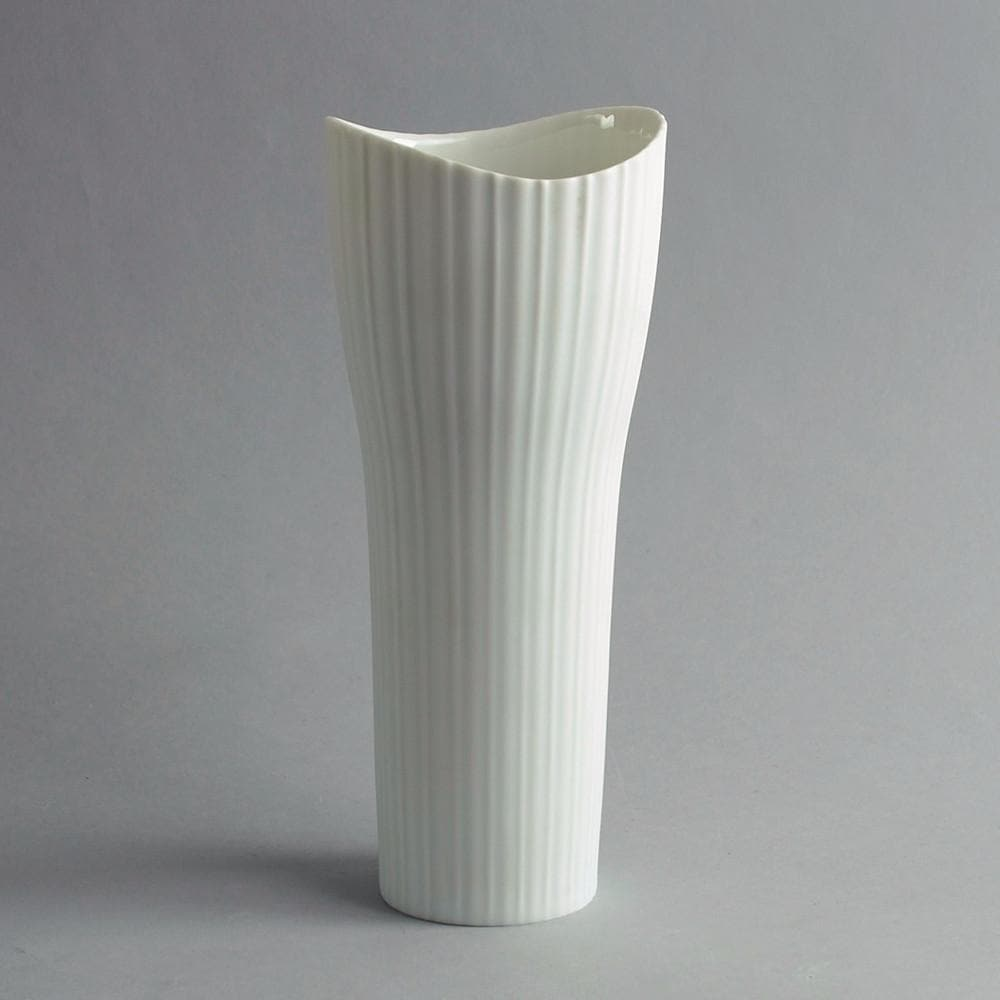 Porcelain cylindrical vase by Tapio Wirkkala for Rosenthal