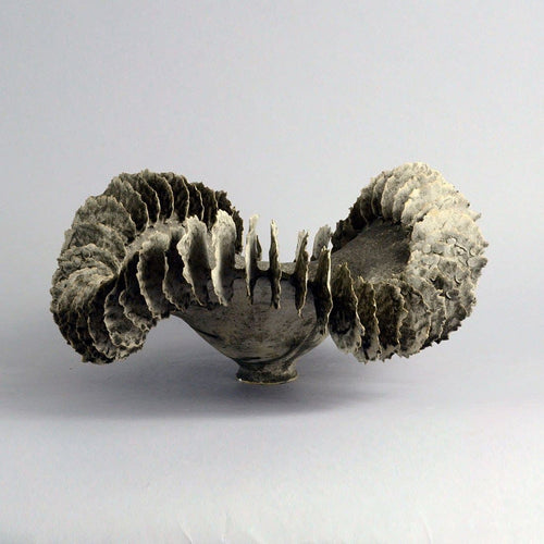 Unique large stoneware sculptural form by Ursula Morley Price B3941