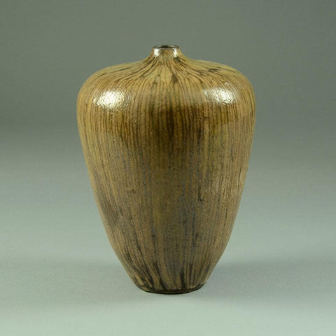 Stoneware vase by Ingrid and Bruno Asshoff