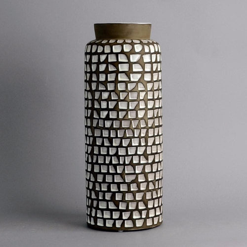 Stoneware vase by Ingrid Atterberg for Upsala Ekeby