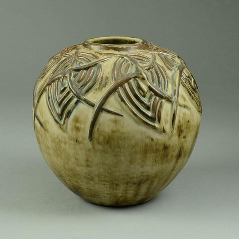 """Living Stones"" vase with Sung glaze by Axel Salto"