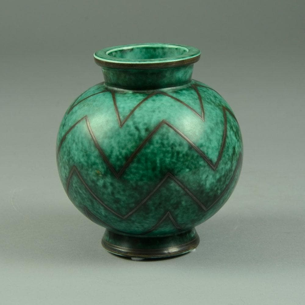 """Argenta"" vase by Wilhem Kage for Gustavsberg"