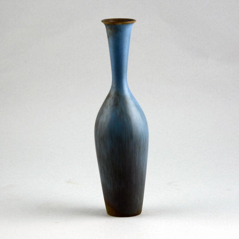 Ceramic vase with blue glaze by Gunnar Nylund for Rorstrand D6303