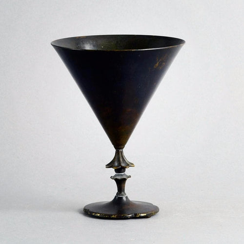 Bronze goblet by Just Andersen U151