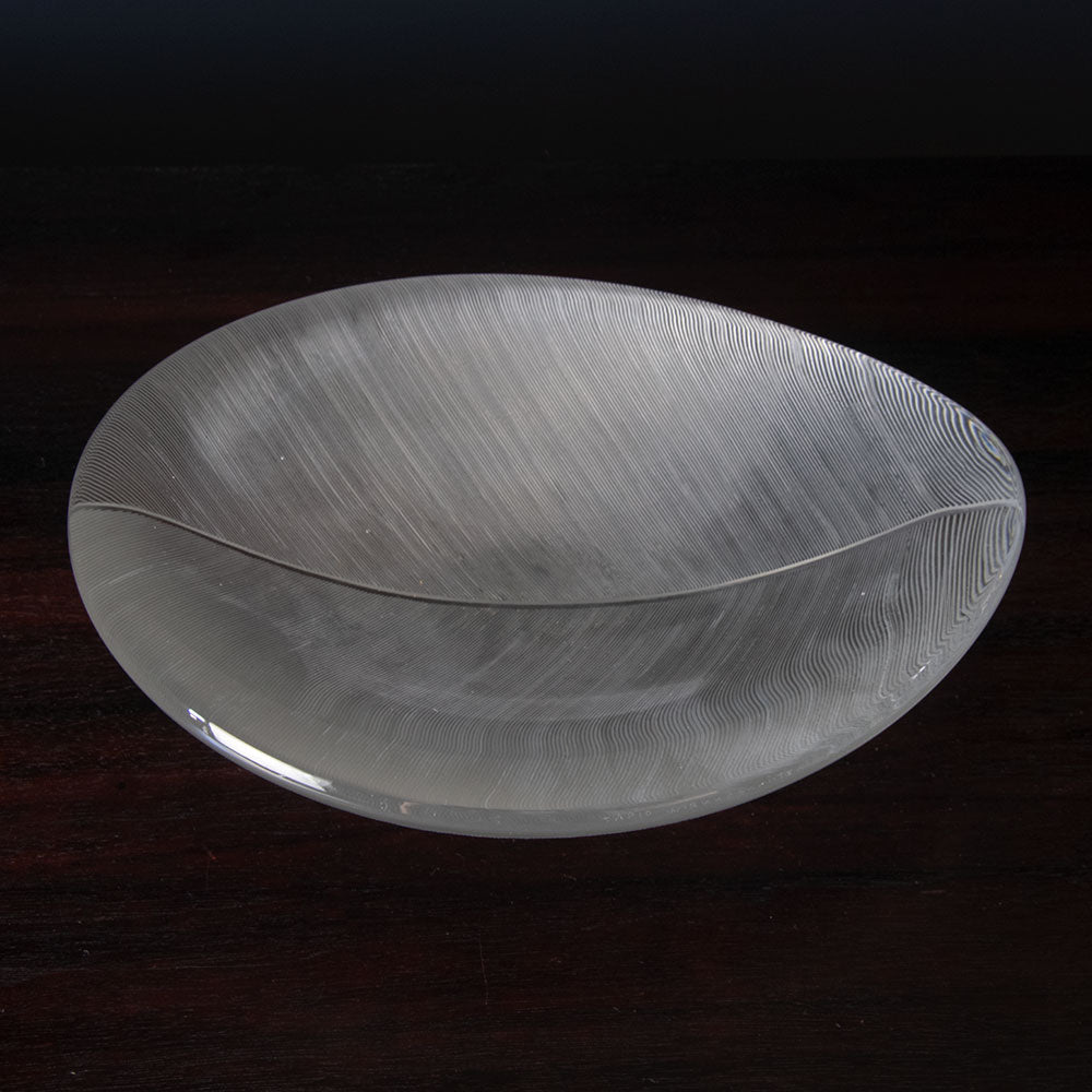 Light bronze dish by Just Andersen