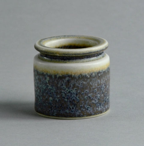 Miniature stoneware vase by  Carl Harry Stålhane for Rorstrand