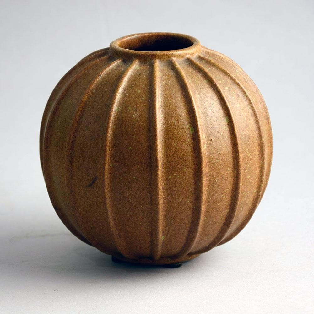 Arne Bang ribbed vase for sale