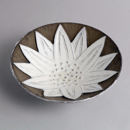 Stoneware bowl by Anna-Lisa Thomson for Upsala Ekeby