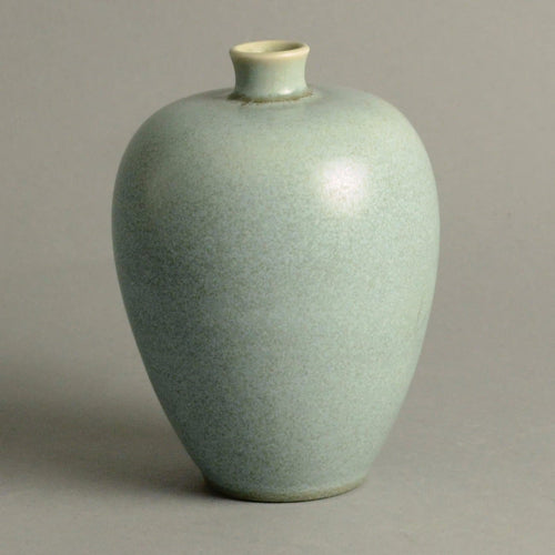 Unique stoneware vase by Erich and Ingrid Triller for Tobo N9655