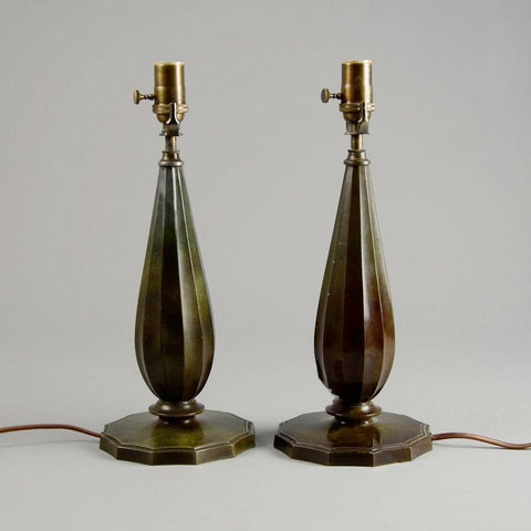 Pair of lamps by Just Andersen for sale