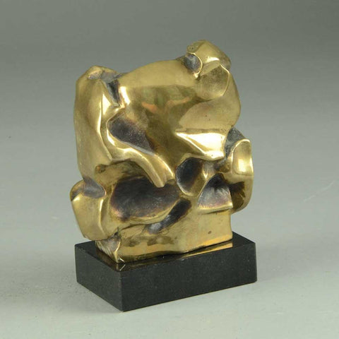 Pipin Henderson, own studio, Denmark   Bronze modernist sculpture
