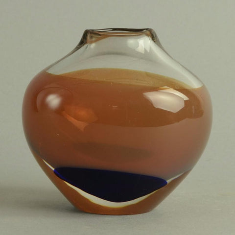 Glass vase by Floris Meydam for Leerdam B3894