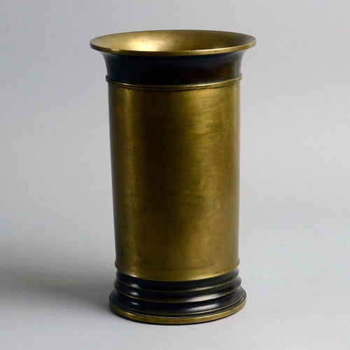 Bronze vase with flaring rim by Just Andersen N8309