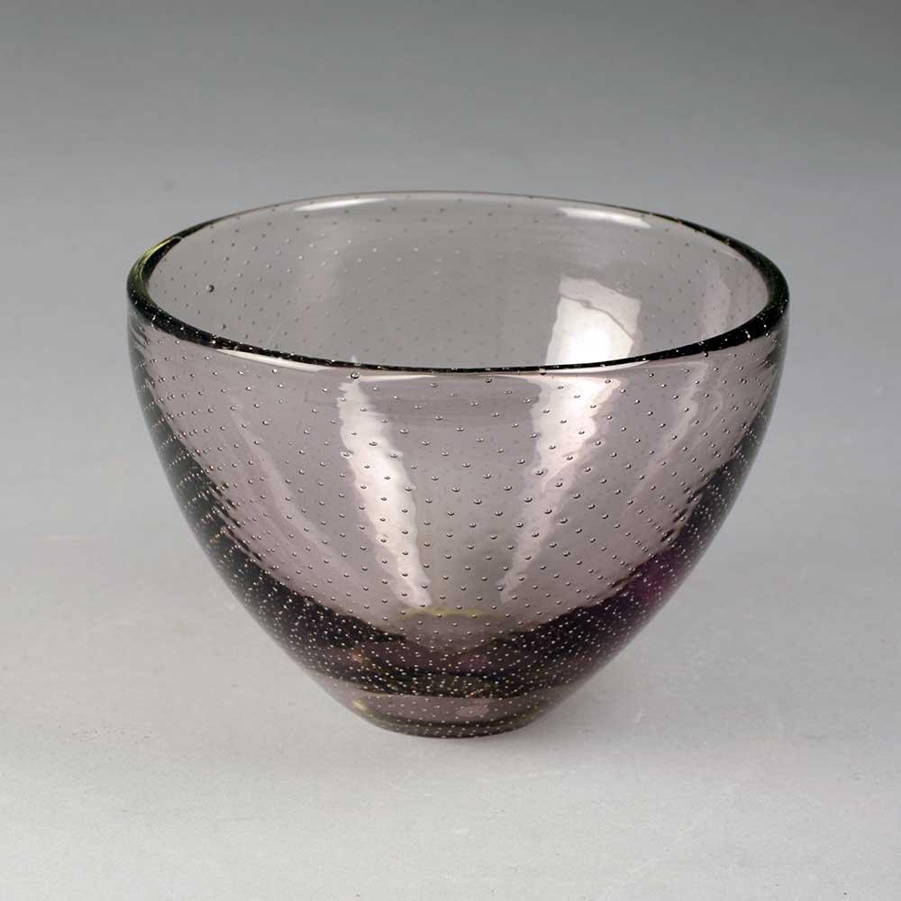 Glass vase by Gunnel Nyman for Nuutäjarvi-Nottsjö B4018