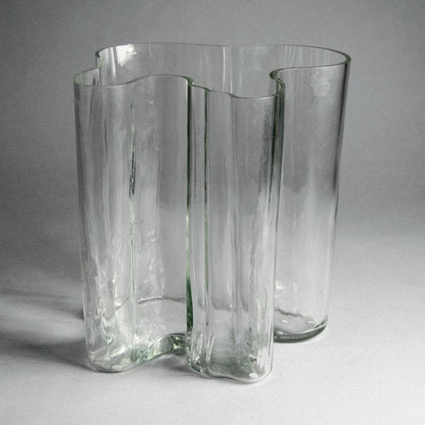 Alvar Aalto for Iittala, Finland  Very large wave vase for sale