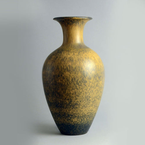 Very Large vase rorstrand brown Gunnar Nylund